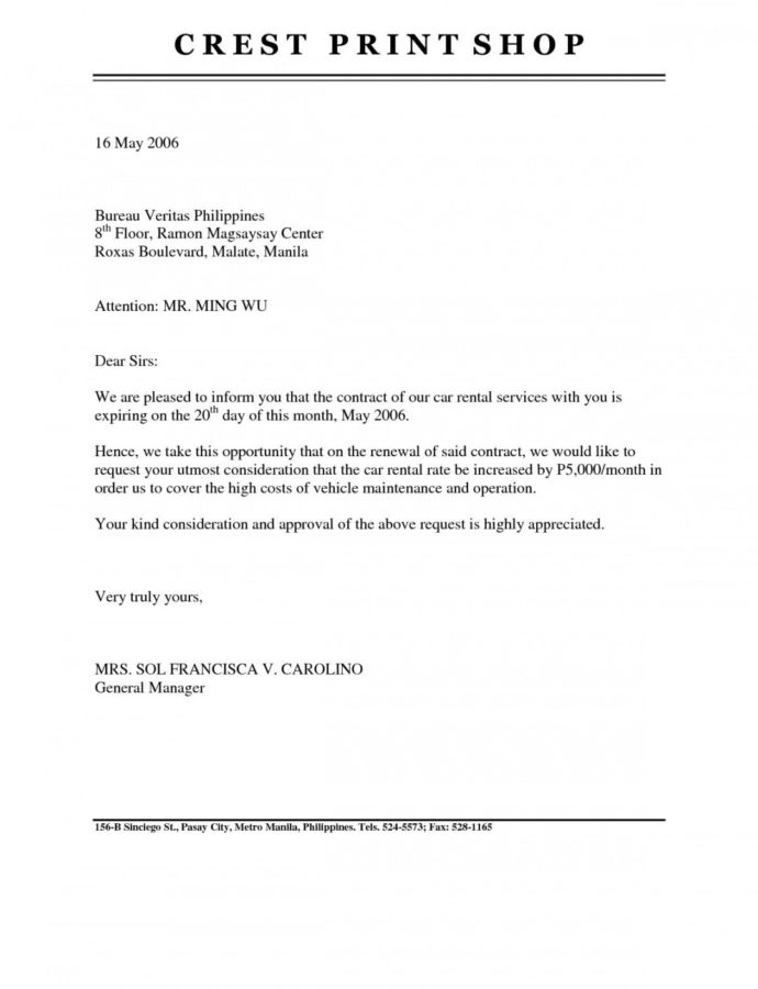 Costume Rental Lease Renewal Letter  Marayasamayolver Notice Of Nonrenewal Of Lease By Tenant Template Word