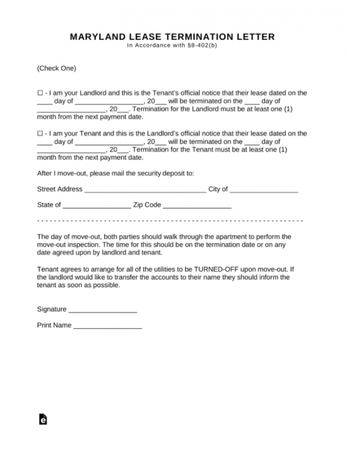 Editable Letter For Lease Termination Eymir Mouldings Co Terminating To Commercial Eviction Notice Template