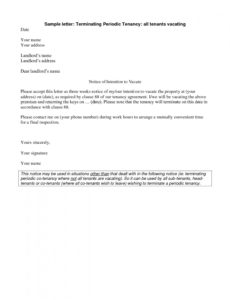editable notice to vacate apartment letter template samples cover 60 day written notice to vacate apartment template doc