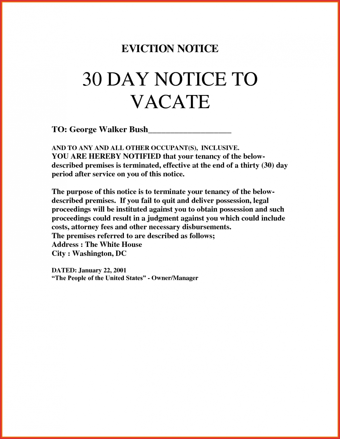 Letter From Tenant To Landlord For 30 Day Notice from cashbackdiscountrealestate.com
