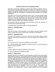 free download copyright notice style 11 template for free at templates hunter software copyright notice template doc