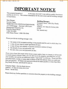 9 foreclosure letter template  mael modern decor default notice letter template