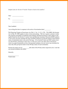 9 give notice letter  pear tree digital 90 day notice letter template example