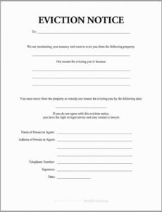 costume 30 day eviction notice form template  mbm legal formal eviction notice template pdf