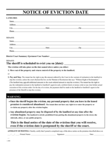 costume 30 free eviction notice template  simple template design fake eviction notice template pdf