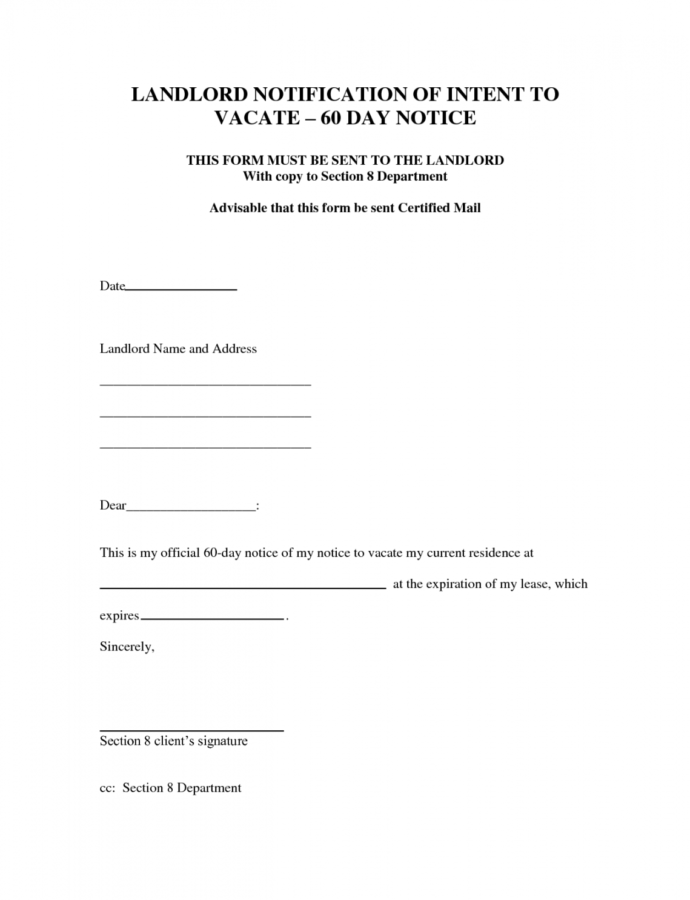Costume Best Photos Of Intent To Move Out Template  Sample Eviction Apartment 60 Day Notice Template