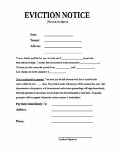 costume free 7 eviction notice forms in sample example format formal eviction notice template doc