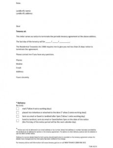 printable 9 tenancy termination letters  free samples examples lease termination notice template
