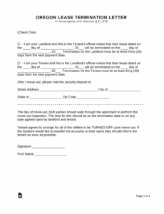 printable day eviction notice template pdf for to vacate written move 30 day notice move out template example