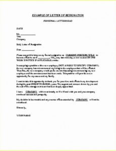 shocking free letter of resignation templates template ideas notice sign template word