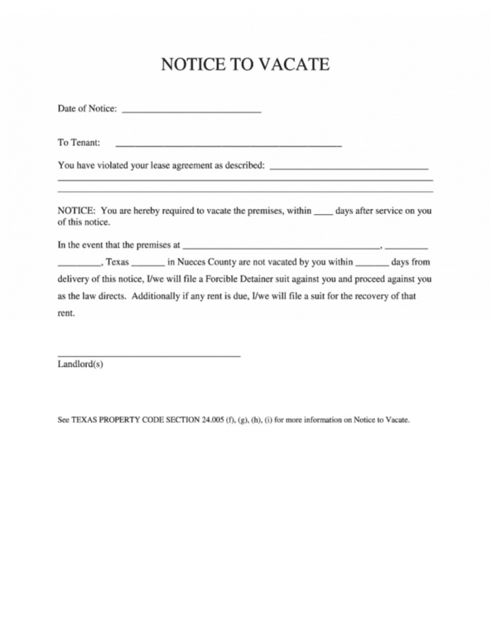 017 Notice To Vacate Template Uk Ideas Unforgettable Tenant Lease Notice To Vacate Template Example