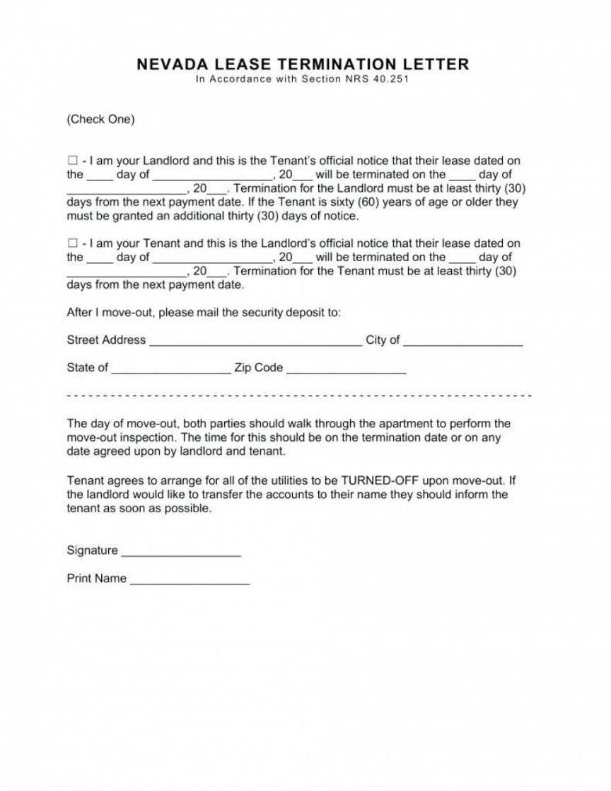 30 day rental notice  cernomioduchowski 30 day notice to terminate lease template word