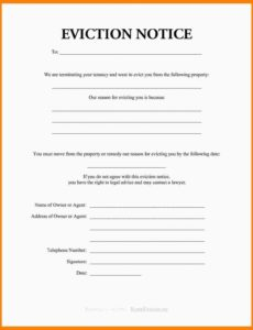 costume 10 eviction notice template pa  ismbauer eviction notice california template sample