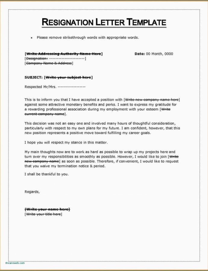 Editable 033 Microsoft Word Week Notice Template Resignation Letter Two Weeks Notice Letter Template Pdf Example