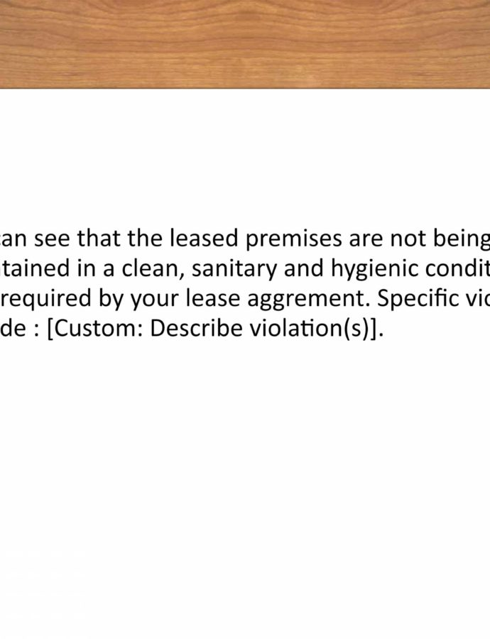 Editable 3 Ways To Write A Warning Letter To A Tenant  Wikihow Parking Warning Notice Template Doc
