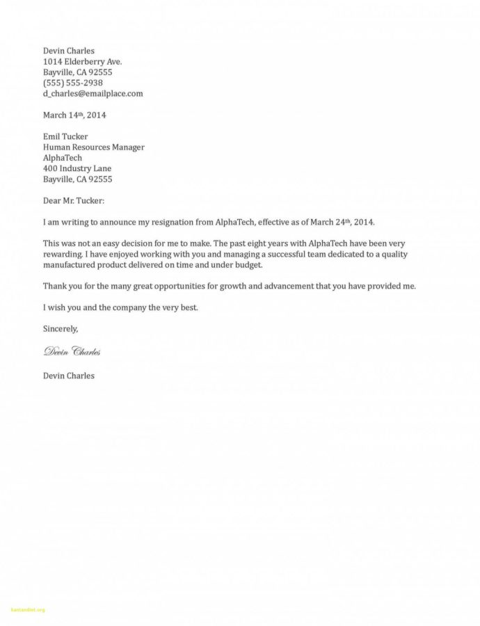 Editable Best Resignation Letter Two Weeks Notice Letter Template Pdf Example
