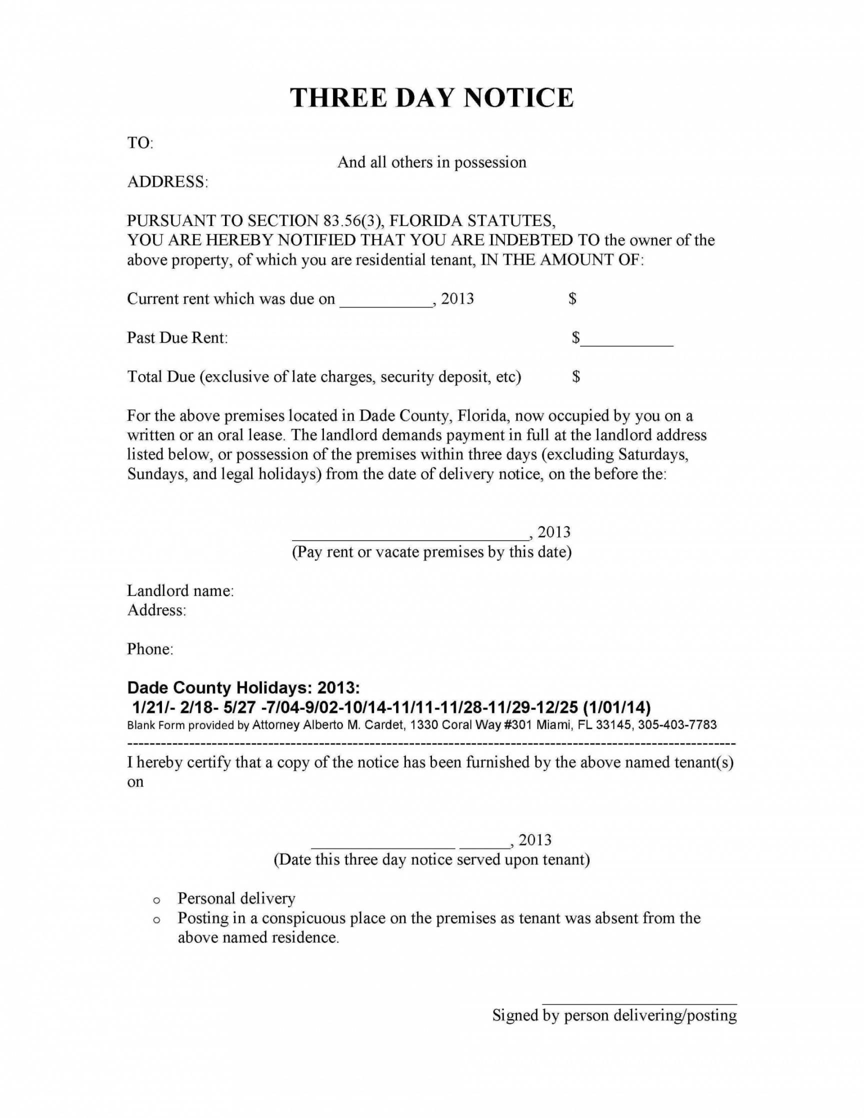 free 001 eviction notice to quit template form ideas free notices eviction notice template oklahoma