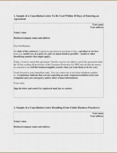 free timeshare cancellation letter mexico letter  novalaser notice of rescission template pdf