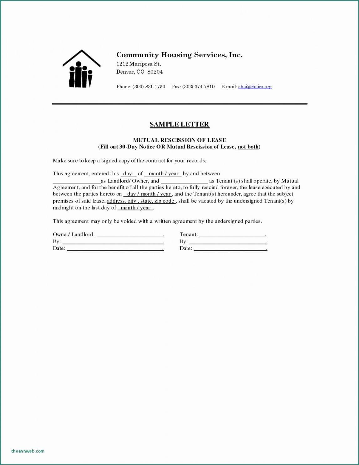 printable 10 cancellation letter sample  lyceestlouis 30 day cancellation notice template pdf