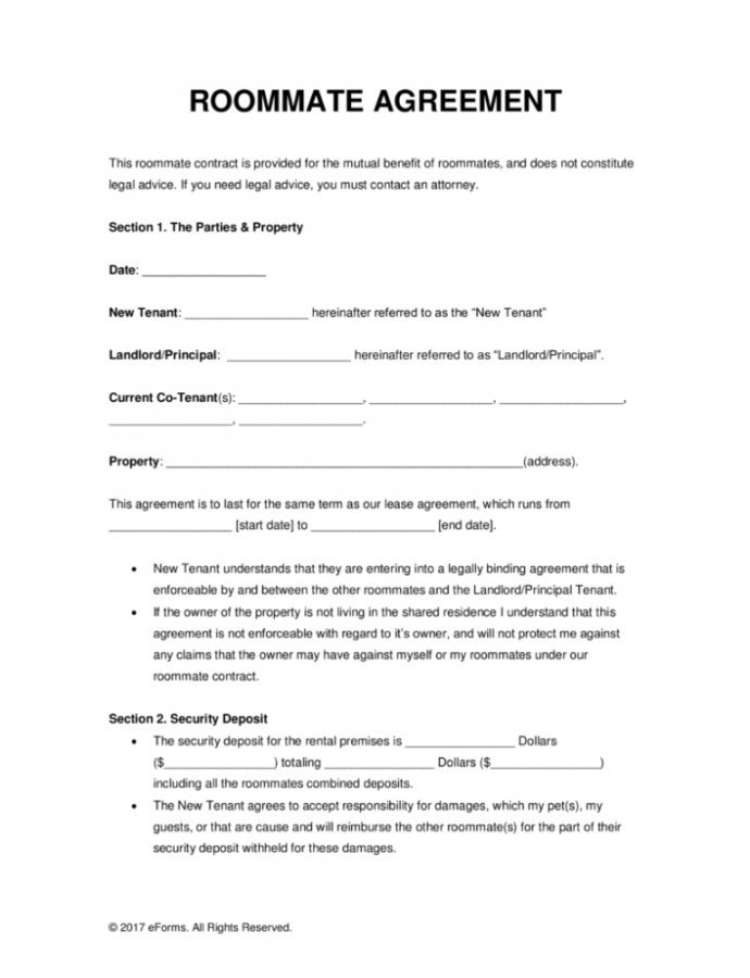 Roommate Eviction Letter Template Collection  Letter Roommate Eviction Notice Template Sample